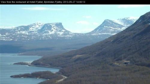 Lapporten från Björkliden den 27 maj