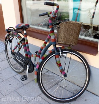 Påklädd cykel