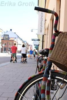 Gatuvy i Uppsala