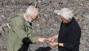 Vad är det jag hittat för något? Är man en erfaren geolog på en sådan här exkursion får man svara på den frågan många gånger.
