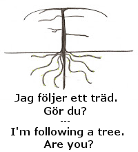 Im following a tree