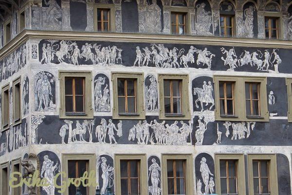 Ett av mina favorithus i Prag.