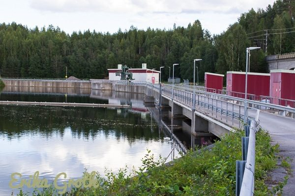 Sikfors kraftverk i Piteälven.